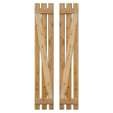 design craft millworks 12 in x 72 in baton spaced z