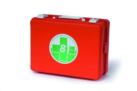 cassetta pronto soccorso allegato 1 valigetta di pronto soccorso kit allegato 2 fino a 2
