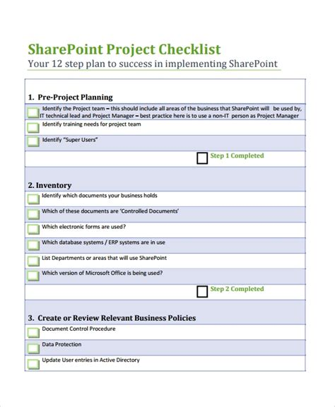 sharepoint requirements template 7 project list templates sle templates