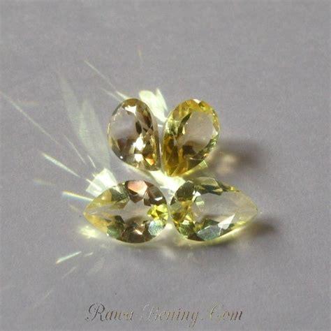Cincin Batu Permata Berkilau grosir 4 pcs batu permata citrine asli brazil 4 20 carat