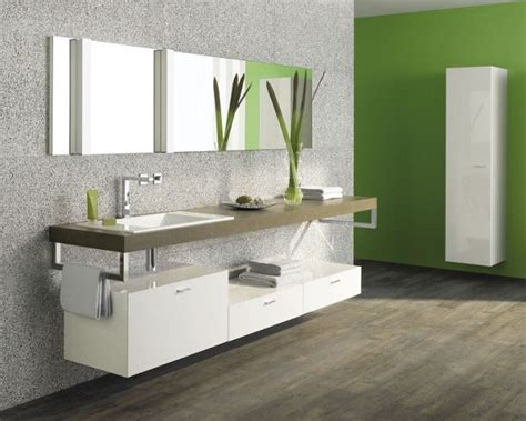 Modern floating vanity cabinets ? airy and elegant