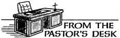 From The Pastors Desk From The Pastors Desk Clipart Clipartfest Pastors Desk