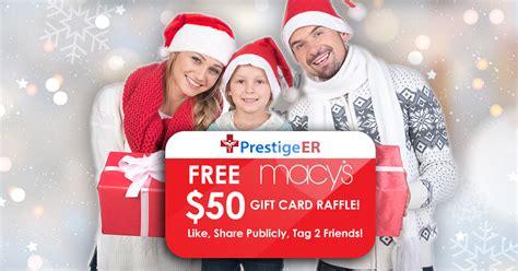 Prestige Gift Card - free macy s gift card raffle prestige er best 24 7 fast emergency care in plano