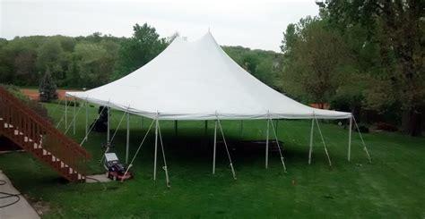 Nachttisch 40 X 40 by 30 X 40 Rope And Pole Tent Rental In Iowa City Cedar Rapids