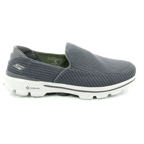 Jual Skechers Go Walk Mens skechers mens go walk 3 53980 char charcoal trainers