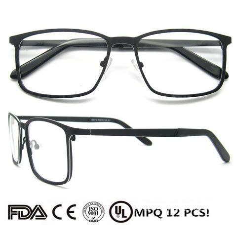 Kacamata Terbaru 2018 2018 terbaru fashion logam pria kacamata pembesar kacamata