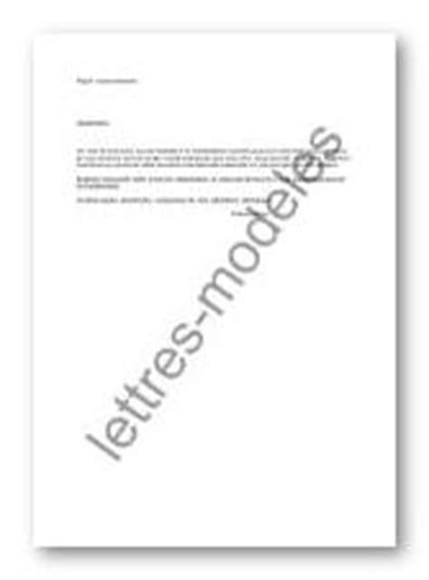 Modèle et exemple de lettres type : Remerciement à un à