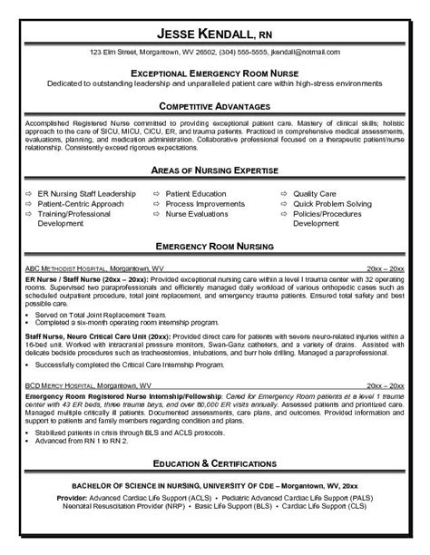 Emergency Room Description by Er Resume Lifiermountain Org