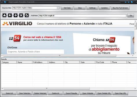 virgilio mobile email estrarre e mail da directory 1254 virgilio it mobiletek