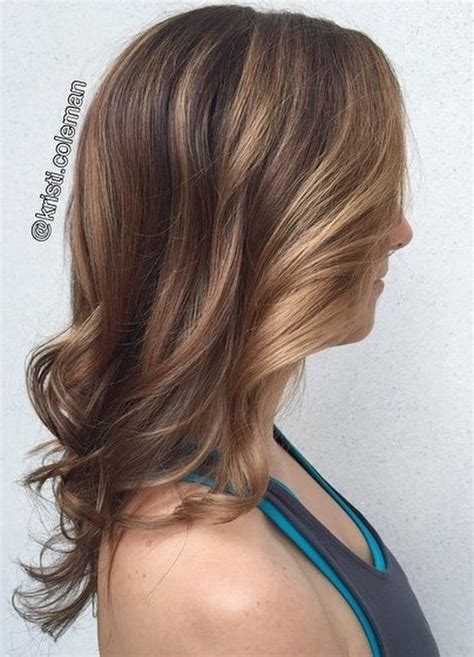 caramel color highlights 60 looks with caramel highlights on brown and brown hair