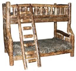 bunk beds furniture pdf diy amish rustic log furniture bunk bed