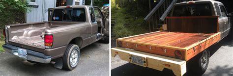 wooden pickup truck build wooden flatbed pickup truck 187 woodworktips