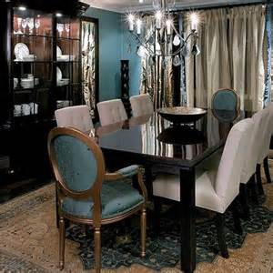 Gray Dining Room With Teal Accents Pretty Things For Home Dining Room Bonanza