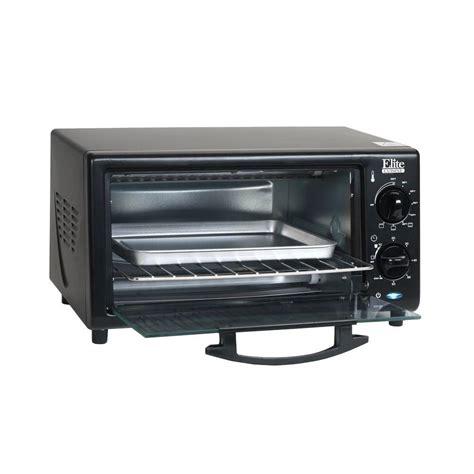 Countertop Broiler by Elite 4 Slice Black Toaster Oven Broiler Eka 9210xb The