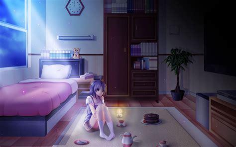alone in bedroom girl sitting alone in the room walldevil