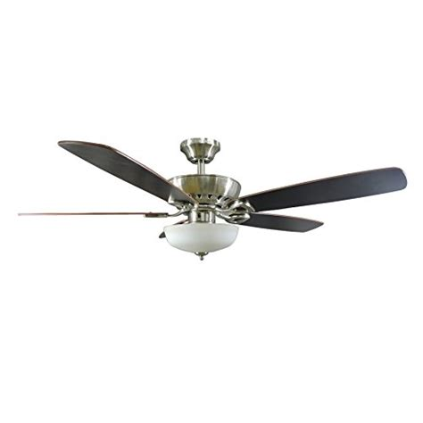 harbor breeze ceiling fan customer service harbor breeze paddle stream 52 inch brushed nickel indoor