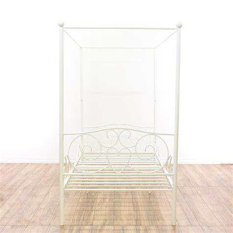 Bed Frames San Diego White Metal Canopy Bed Frame Loveseat Vintage Furniture San Diego