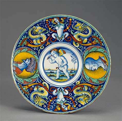 maiolica history function and production decorative