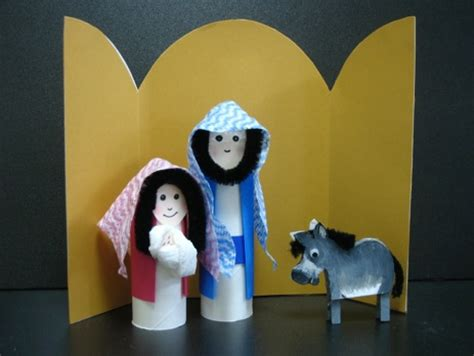 christmas nativity crafts for children