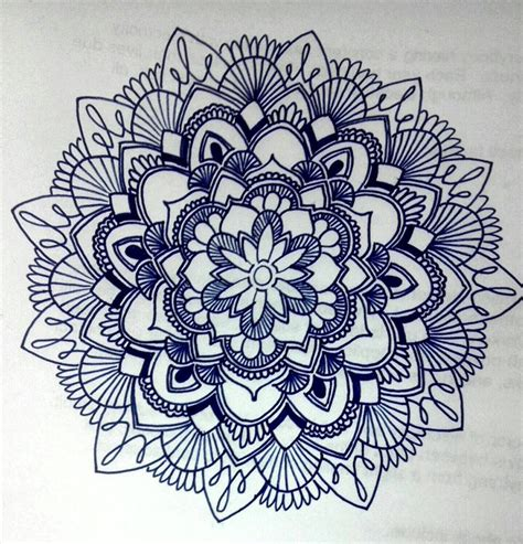 doodle drawer mandala patterns to draw images