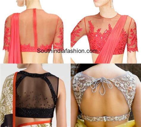 latest blouse pattern with net 30 latest fashionable blouse designs for modern women