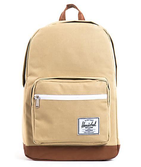 Bag Snob Pop Quiz by Herschel Supply Pop Quiz Khaki Backpack