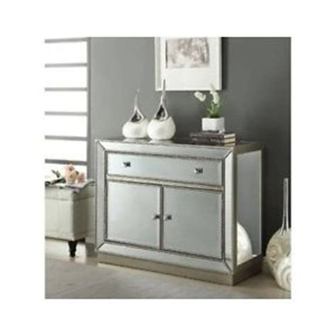 mirrored cabinets living room mirrored accent cabinet 1 drawer storage chest living room bedroom furniture