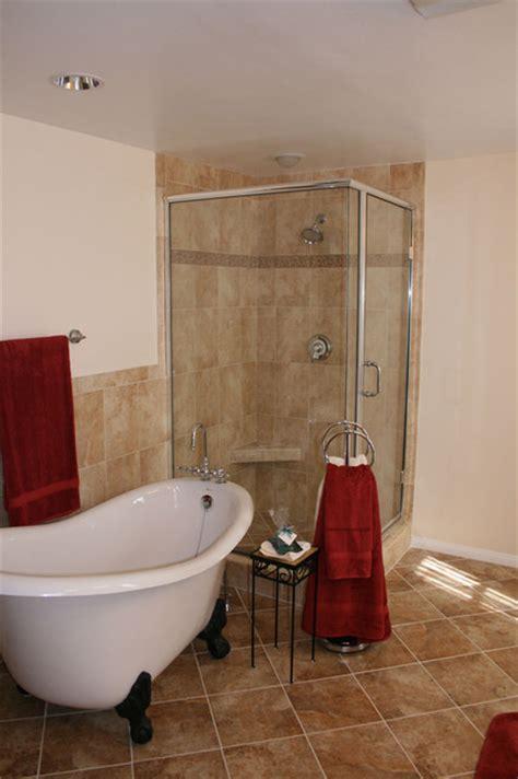 clawfoot tub bathroom remodel claw foot slipper tub bathroom remodel traditional