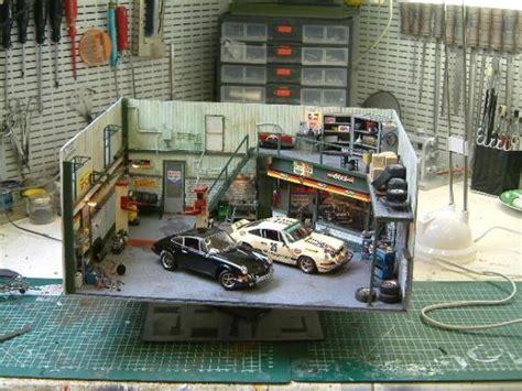Diorama Garage Kits 1 24 scale garage diorama car interior design