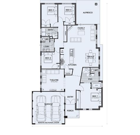 vdara floor plan house builders perth vdara display home affordable