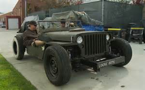 Hotrod Jeep Jeep Mb Rat Rod With Rod Guys Front View 203694 Photo