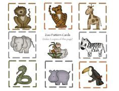 animal pattern worksheets for kindergarten 1000 images about zoo on pinterest zoo animals zoos