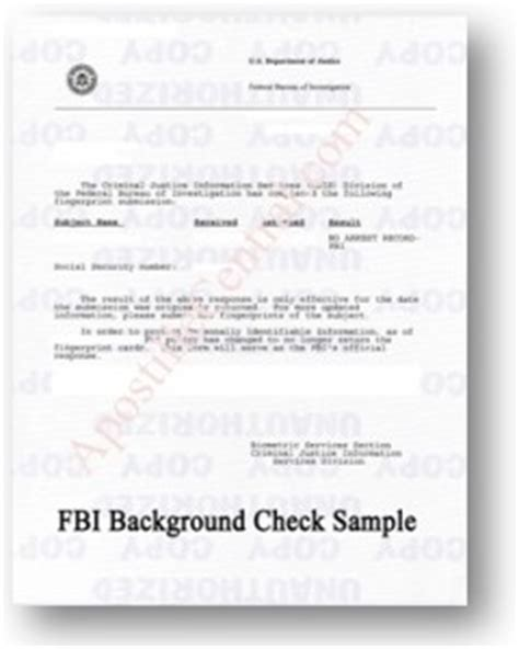 How To Obtain Fbi Background Check Fbi Background Check Apostille Apostille Central