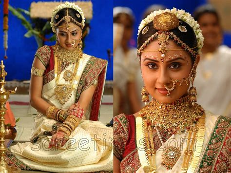 Marriage Bridal Pics by Traditional South Indian Wedding Sarees Wedding Pictures