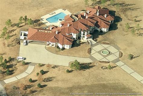 toby keith house okc garth brooks houses aerial images billionaire addresses