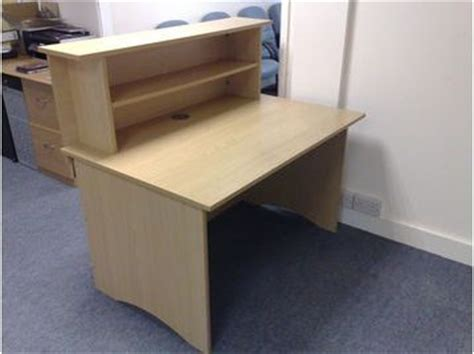 Flat Pack Reception Desk Trexus Reception Desk Flat Pack Cambridge Uk Free Classifieds Muamat