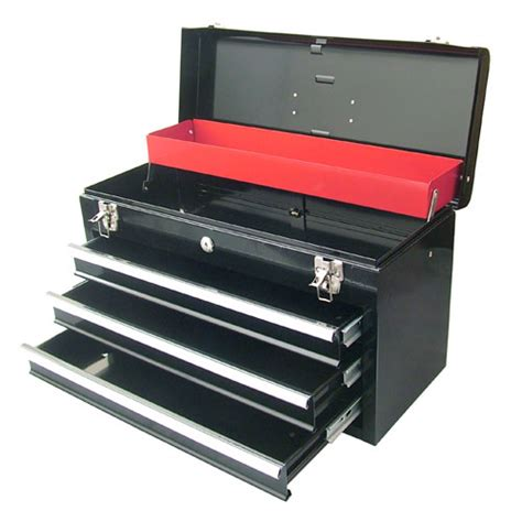 heavy duty storage cabinets with locks 3 drawer auto lock steel toolbox tool top box chest heavy