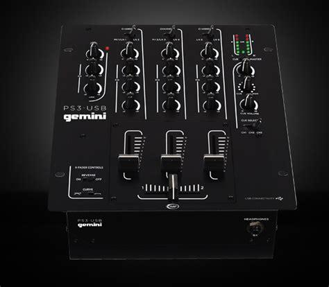 console gemini ps3 usb gemini dj ps3 usb audiofanzine
