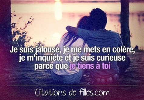 Qui Dit Jalousie Dit Amour by Citations De Filles Citations D Amour D Amiti 233 Et