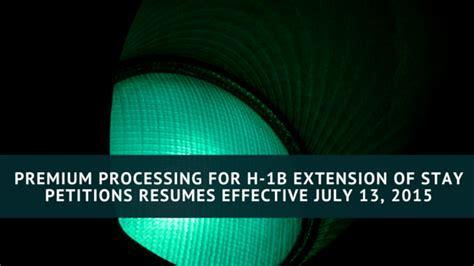 When Will H1b Premium Processing Resume