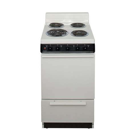 premier 20 in 2 42 cu ft electric range in biscuit
