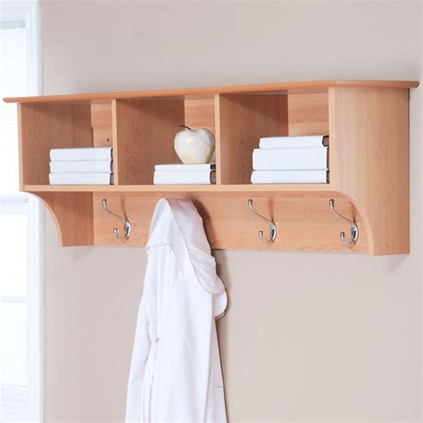 shelf with hooks for bathroom bathroom wall shelves wood decor ideasdecor ideas