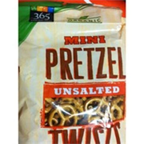 whole grain unsalted pretzels 365 everyday value organic unsalted mini pretzel twists
