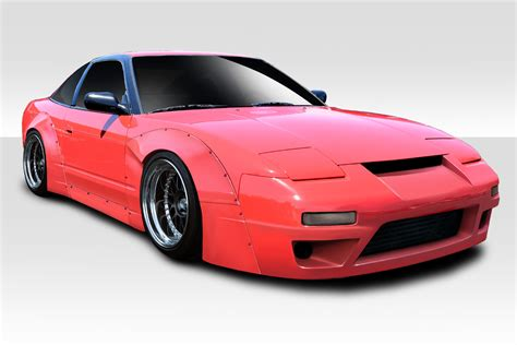 widebody nissan 240sx 1989 1994 nissan 240sx s13 hb duraflex rbs v3 widebody kit