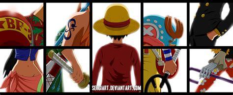 Kaos Anime One Shp Straw Hat Crew Roronoa Zoro 2 one straw hat by sergiart on deviantart