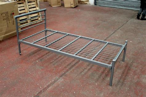 contract bed frame with mesh base pl furniture