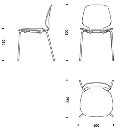 stuhl 2d woodwork chair plan cad block pdf plans