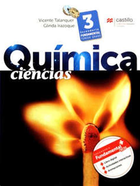 Pag 114 Quimica 3 Libros Castillo | ciencias 3 qu 237 mica