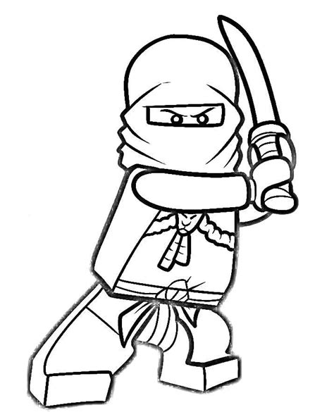 free coloring pages of red ninja ninjago