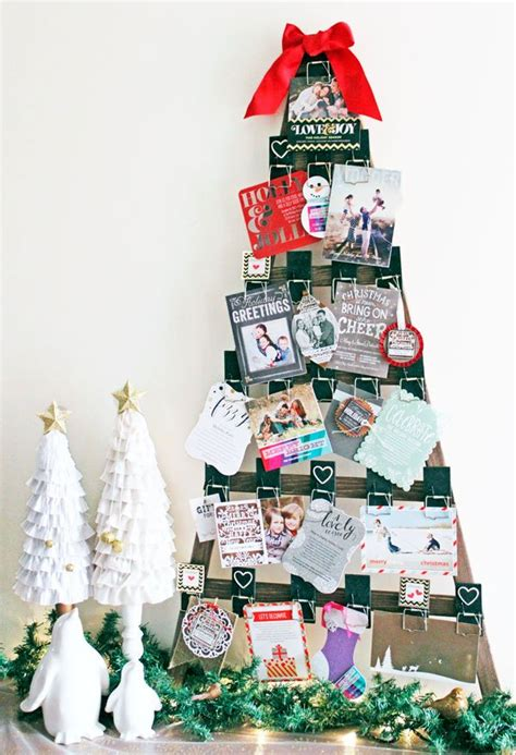 christmas card display diy christmas card holder and display ideas landeelu com